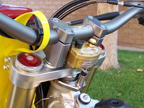 scotts steering damper instructions