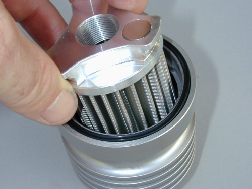 Oil Filter - Removing